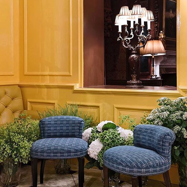 Charlie Stools at The Goring Hotel