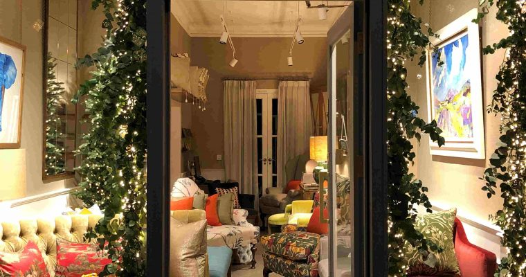 45 Pimlico Road Christmas