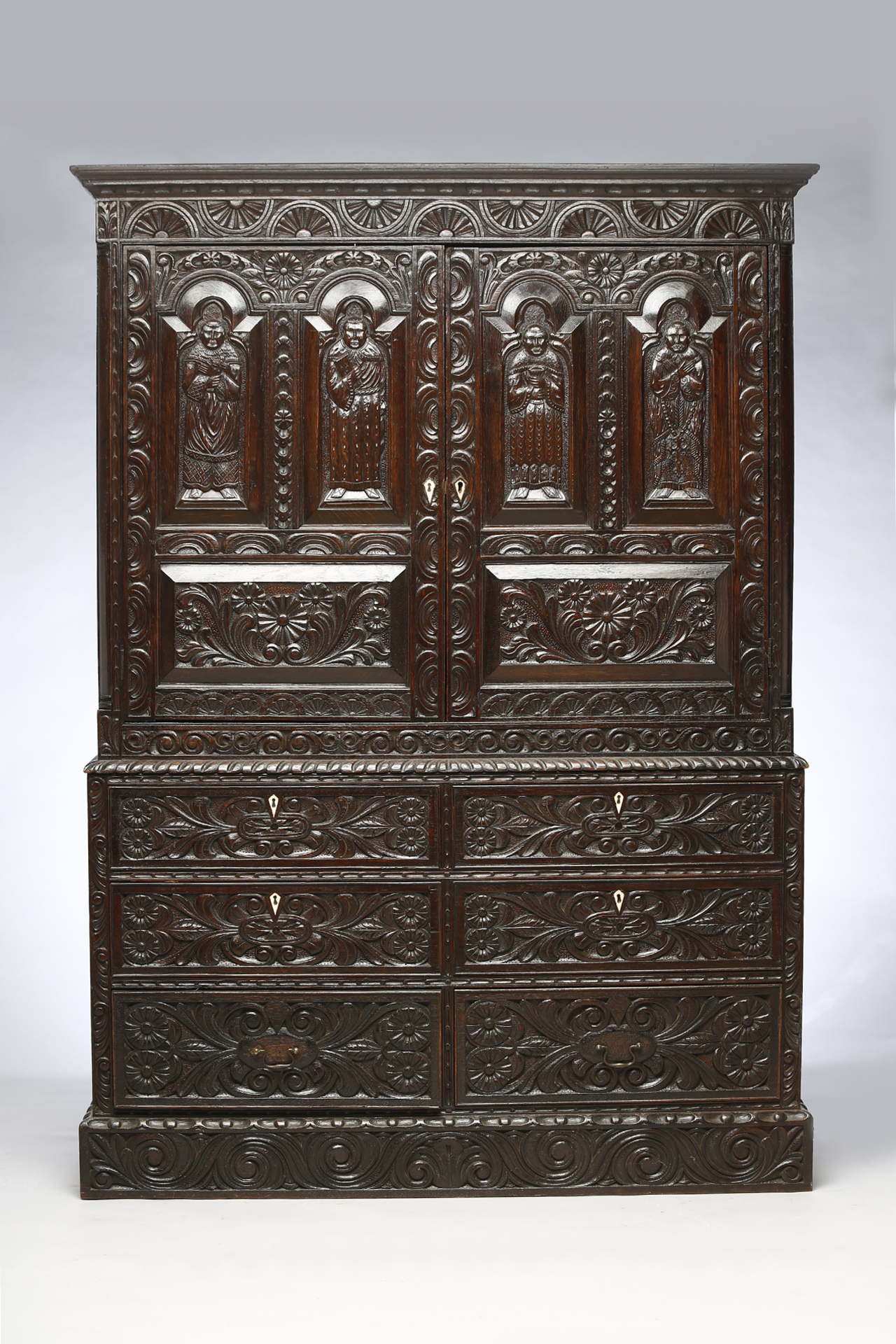 Jacobean Oak Cupboard