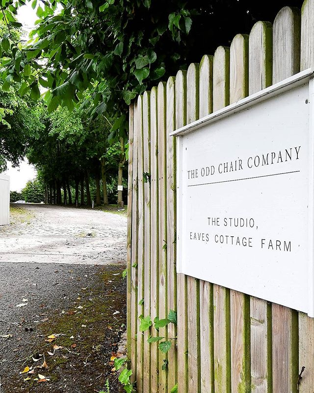 The Odd Chair Company Farm Sign