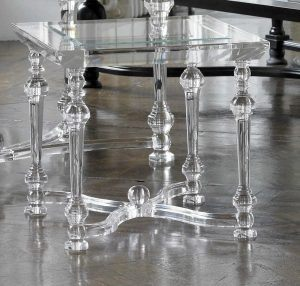 Victoria James Acrylic ST002-side table