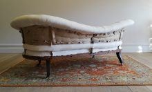 Late 18th Century Scroll Back Sofa