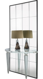 Acrylic Wall Mounted Fluted Leg Console WM006