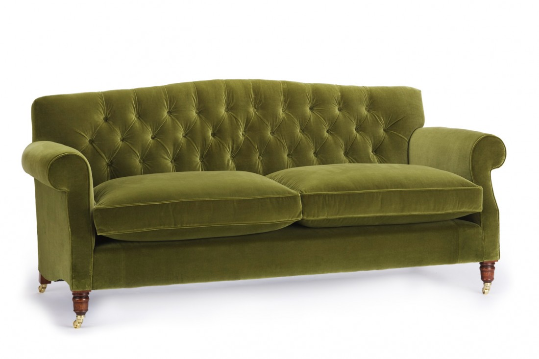 Kent Buttoned Sofa The Odd Chair Company
