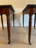 Late Victorian Demi Lune Tables