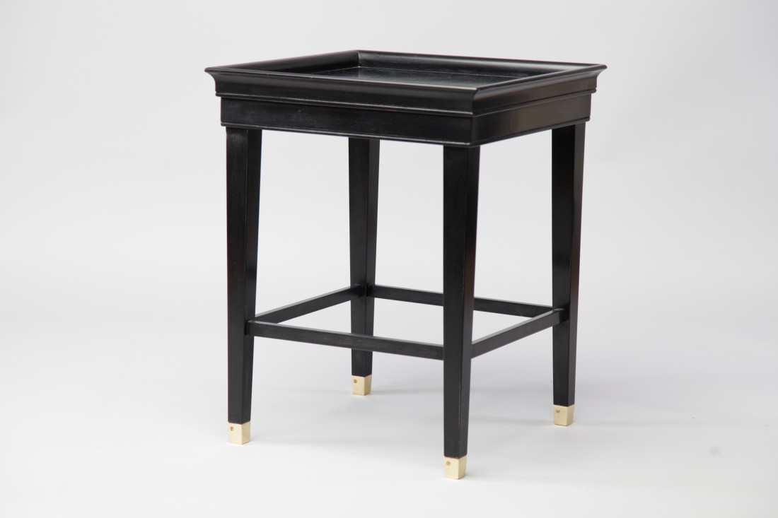 Wooden side table the odd chair company for Table th odd
