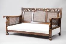 Walnut Art Noveau Sofa and Chairs