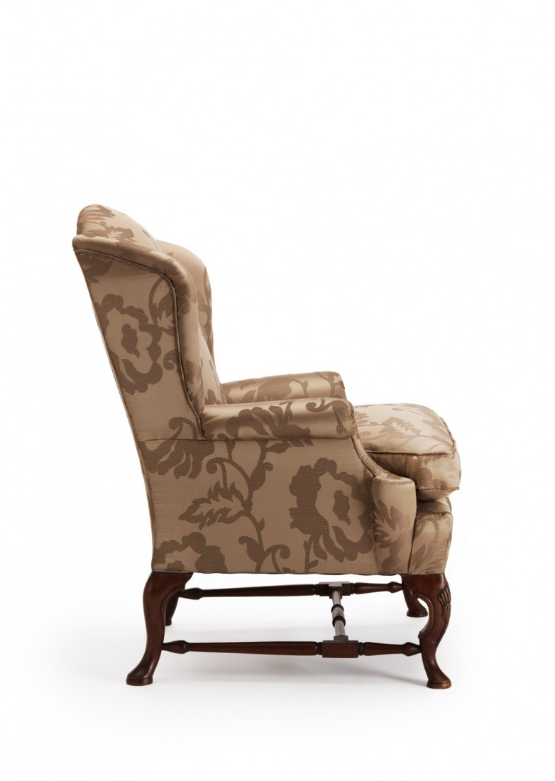 Queen Anne Wing Chair The Odd Chair pany