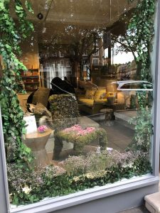 Flower Chair in window