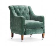 Regent Button Chair three quarter view