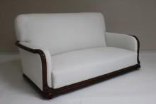 Walnut Art Nouveau style suite