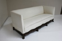 Continental Walnut Sofa