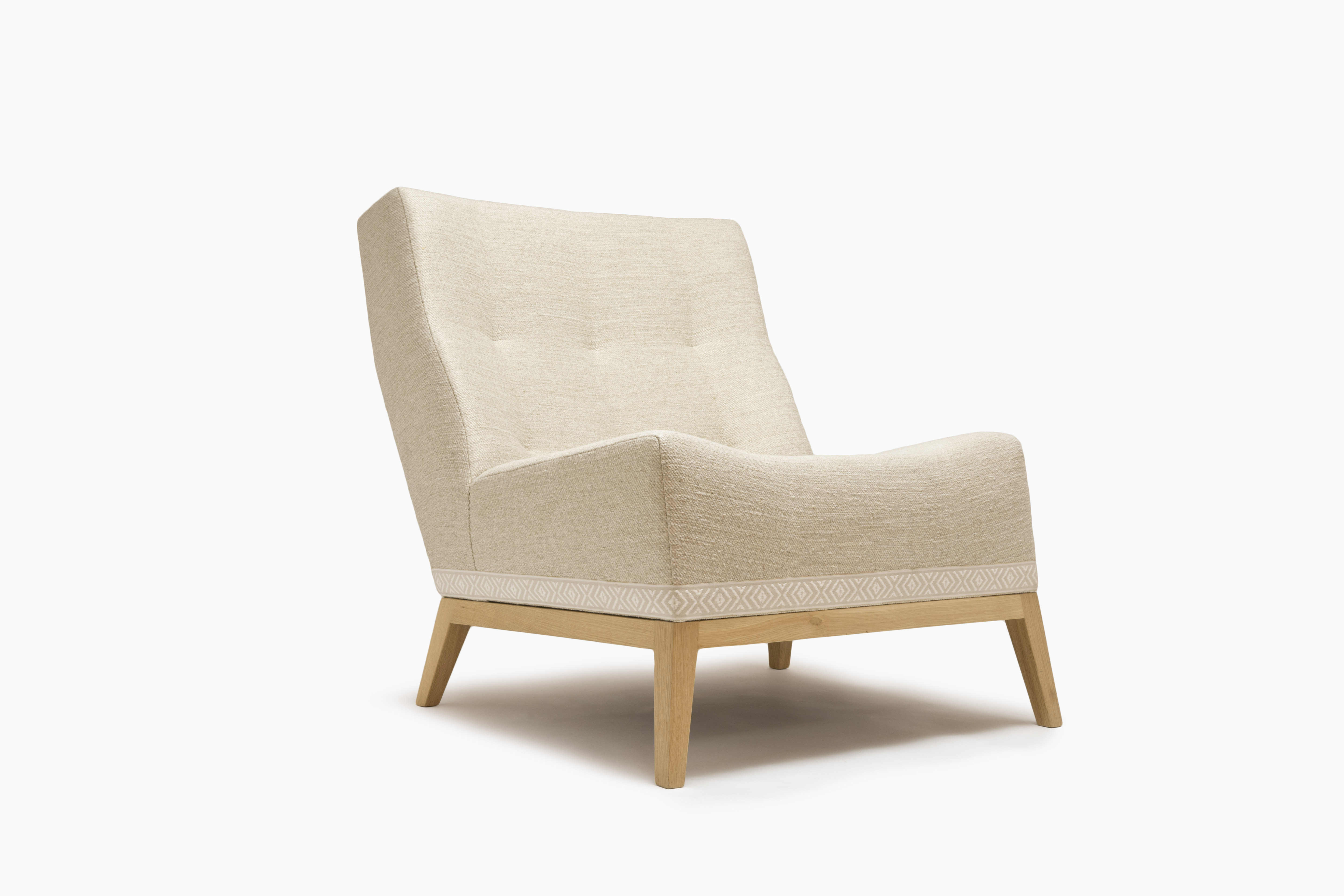 Theo chair three quarter view