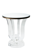 Tulip Side Table Mirrored ST007