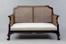 Victorian Bergere Sofa