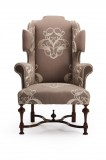 William & Mary Wing Chair