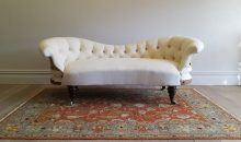 Late 18th Century Scroll Back Sofa