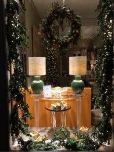 Christmas Window display London
