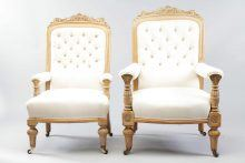 19th Century Library Chairs