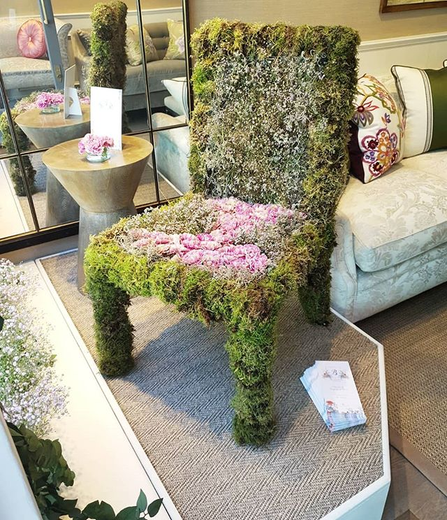 Handmade Flower Chair