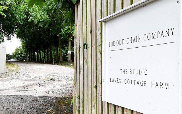 The Odd Chair Company Farm Sign
