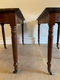 Late Victorian Demi Lune Tables