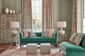 Weston Sofa in James Hare fabric
