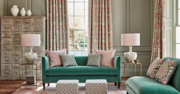 Weston Sofa for James Hare Fabric