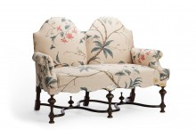 William & Mary Settee