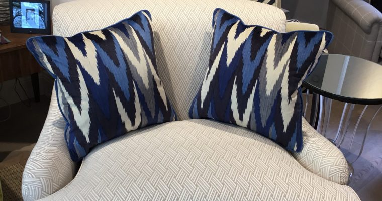 scatter cushions in London